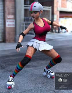 Derby Girl for Genesis 3 Female(s)