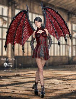Universal Demon Wings for Genesis
