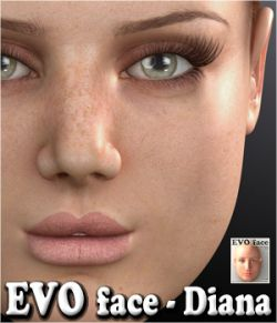 EVO face - Diana