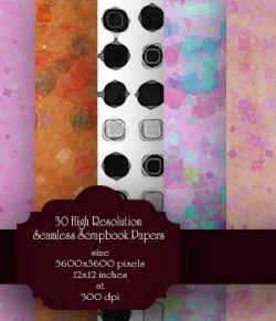 Seamless Scrapbook patterns