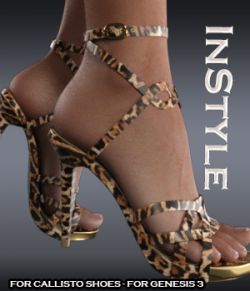 InStyle - Callisto Shoes - for Genesis 3