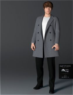 H&C Coat Outfit A for Genesis 3 Male(s)
