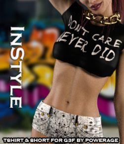 InStyle- Tshirt & Short for G3 female(s) V7