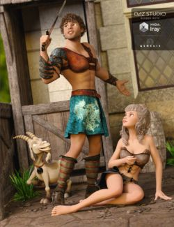 Leather Warrior for Genesis 3 Male(s)