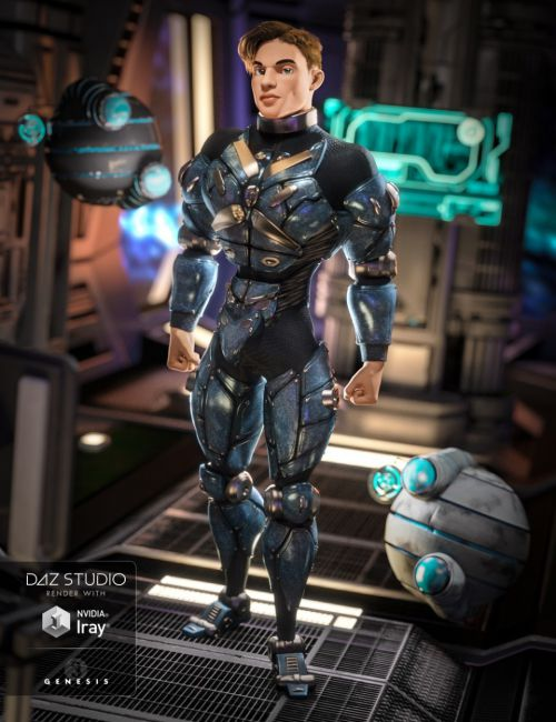 Cyber Soldier for Genesis 3 Male(s)