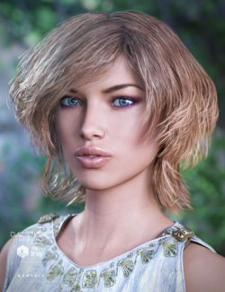 Cybele Hair for Genesis 3 Female(s)