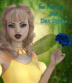 Fae Flowers 1 For Daz Studio