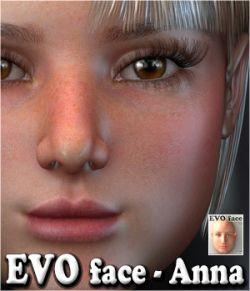 EVO face - Anna