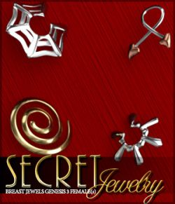 Secret Jewelry for Genesis 3 Female(s)