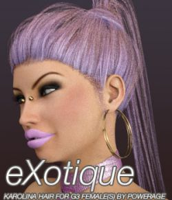 eXotique Karolina Hair for G3 female(s)
