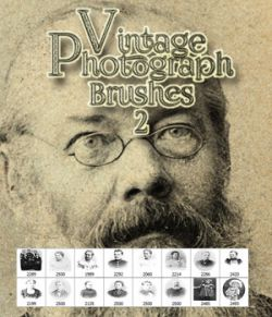 Vintage Photograph Brushes 2