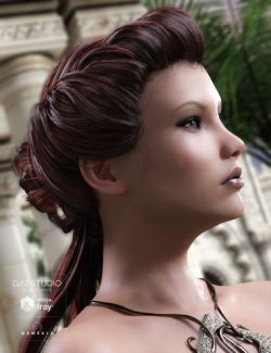 Augusta Hair for Genesis 3 Female(s)
