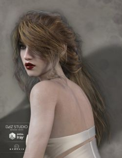Legacie Hair for Genesis 2 Female(s), Genesis 3 Female(s) and Victoria 4