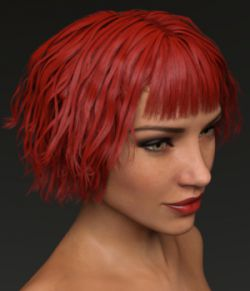 Messy Joan Hair for Genesis 3 Female(s)