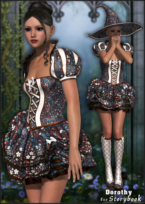 Dorothy for Storybook Outfit