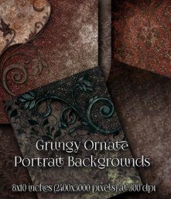 Grungy Ornate Backgrounds
