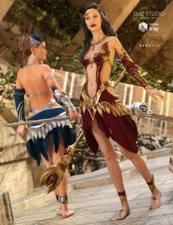 Circe Outfit Textures