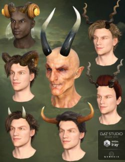 Universal Horns for Genesis 3 Male(s)
