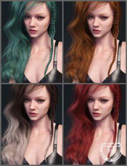 Sapphire Hair Iray Texture XPansion