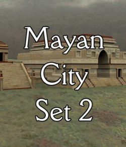Mayan City: Set 2 (for Poser)