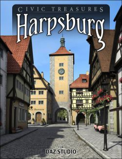 Harpsburg for Daz Studio