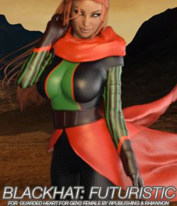 BLACKHAT:FUTURISTIC- Guarded Heart Clothing for G2F