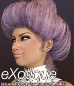 eXotique Bella Hair for G3 female(s)