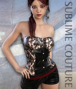 Sublime Couture: Overall for Genesis 3 Female(s)
