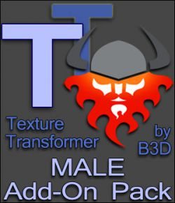 Texture Transformer Male Add-on Pack