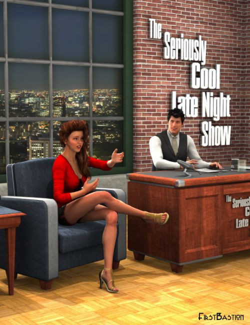 Talk Show - Late Night Set and Poses