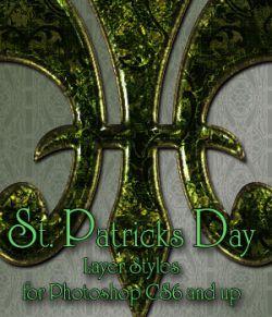 St Patrick's Day Photoshop Styles