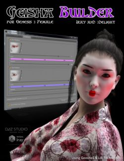 Geisha Builder for Genesis 3 Female(s)