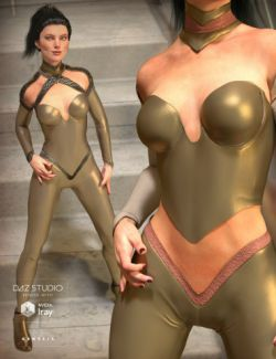 The CallaSuit for Genesis 3 Female(s) and Genesis 2 Female(s)