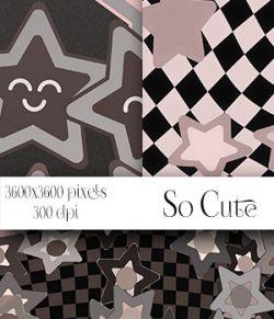 So Cute - Seamless Patterns