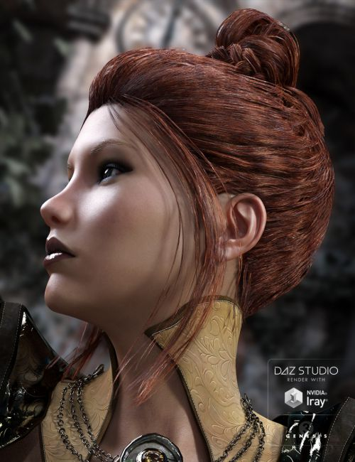 BlueBell Hair for Genesis 3 Female(s)
