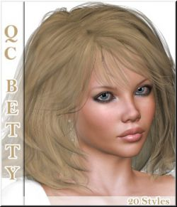 Quick-Click Betty-Hair