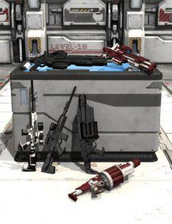 Mestophales Sci Fi Weapons 2