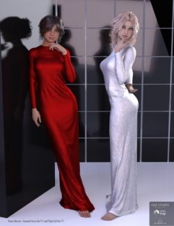 Bella Donna Dress for Genesis 3 Female(s)