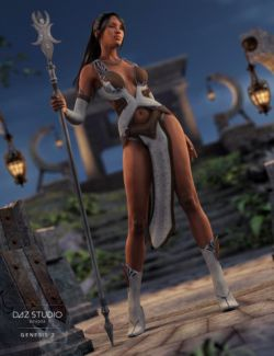 Moon Goddess for Genesis 2 Female(s)