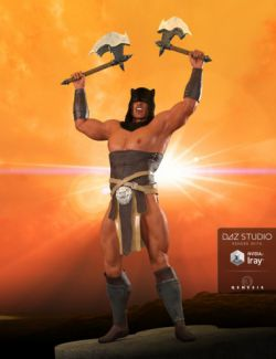 AQ Barbarian for Genesis 3 Male(s)