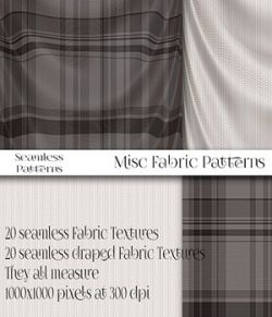 More Misc Fabric Patterns