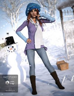 Frosty Winter Genesis 3 Female(s)