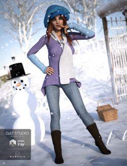 Frosty Winter Genesis 3 Female(s)