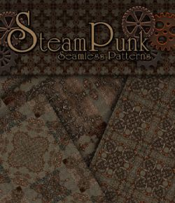 Merchant Resource- Steampunk Patterns 4