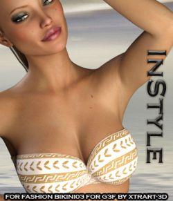 InStyle:#BeFancy - Fashion Bikini03 for Genesis 3 Female(s)
