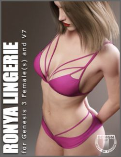 Ronya Lingerie for Genesis 3 Female(s)