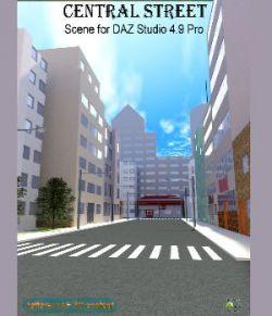 Central Street for Daz Studio
