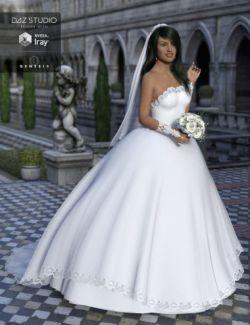 Wedding Dress for Genesis 3 Female(s)