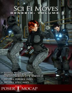 Sci Fi Moves Genesis: Volume 3