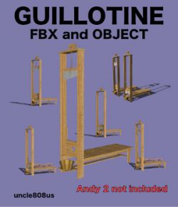 Guillotine FBX and OBJ extended license